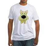 Big Nose/Butt Cairn Fitted T-Shirt