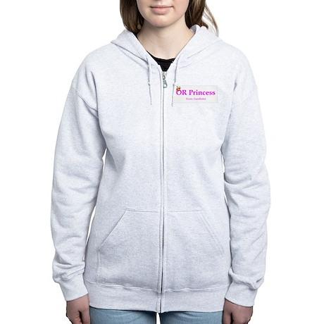 OR Princess CRNA Women's Zip Hoodie