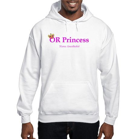 OR Princess CRNA Hooded Sweatshirt