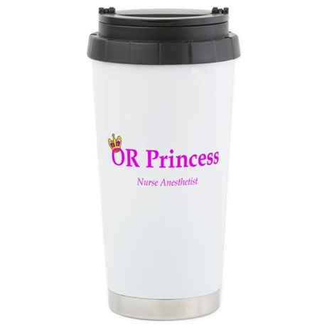 OR Princess CRNA Stainless Steel Travel Mug