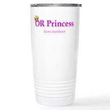 OR Princess CRNA Travel Coffee Mug