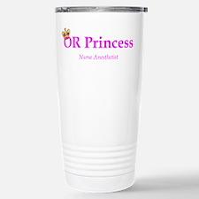 OR Princess CRNA Travel Mug