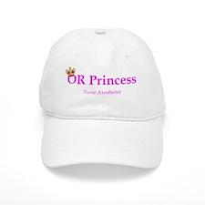 OR Princess CRNA Baseball Cap