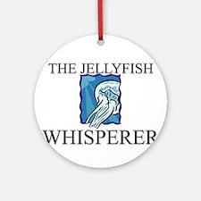 The Jellyfish Whisperer Ornament (Round)