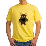 Big Nose/Butt Cairn Yellow T-Shirt