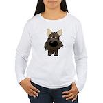 Big Nose/Butt Cairn Women's Long Sleeve T-Shirt