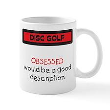Obsessed Mug (Red and Black)