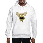 Big Nose/Butt Chihuahua Hooded Sweatshirt