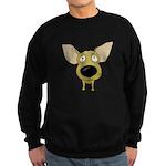 Big Nose Chihuahua Sweatshirt (dark)