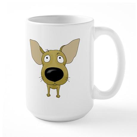 Big Nose/Butt Chihuahua Large Mug