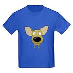 Big Nose/Butt Chihuahua Kids Dark T-Shirt