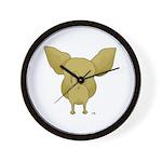 Chihuahua Butt View Wall Clock