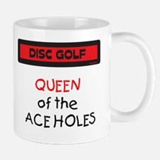 Queen of the Ace Holes Mug (Red and Black)