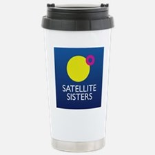 Satellite Sisters Orbit Logo Travel Mug