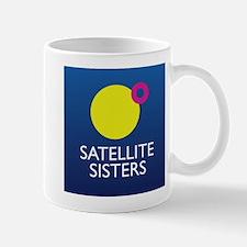Satellite Sisters Orbit Logo Mugs