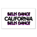 California Rectangle Sticker 50 pk)