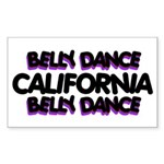 California Rectangle Sticker 10 pk)
