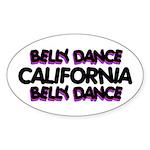 California Oval Sticker (10 pk)