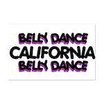 California Mini Poster Print