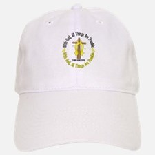 With God Cross SARCOMA Baseball Baseball Cap