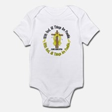 With God Cross SARCOMA Infant Bodysuit