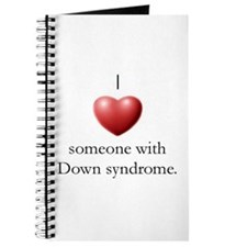 I Love Someone With DS Journal