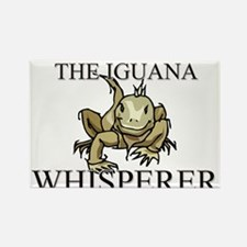 The Iguana Whisperer Rectangle Magnet