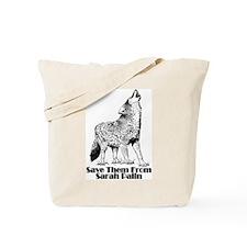 Sarah's Wolves Tote Bag