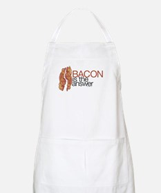 """Bacon is the Answer"" BBQ Apron"