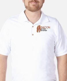 """Bacon is the Answer"" T-Shirt"