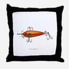 Vintage Lure 11 Throw Pillow