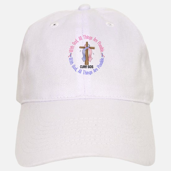 With God Cross SIDS Hat