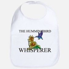 The Hummingbird Whisperer Bib