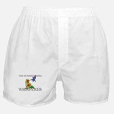 The Hummingbird Whisperer Boxer Shorts