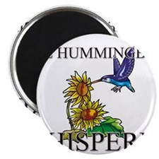 The Hummingbird Whisperer Magnet