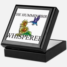 The Hummingbird Whisperer Keepsake Box