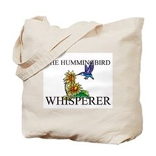 The Hummingbird Whisperer Tote Bag