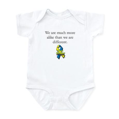 Much More Alike Infant Bodysuit