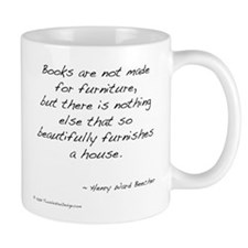 Beecher on Books II Mug