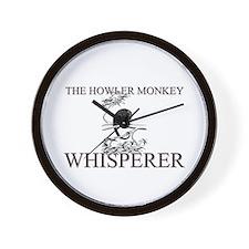 The Howler Monkey Whisperer Wall Clock