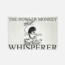 The Howler Monkey Whisperer Rectangle Magnet