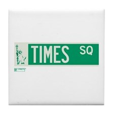 Times Square in NY Tile Coaster