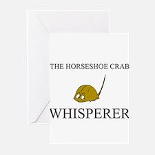 The Horseshoe Crab Whisperer Greeting Cards (Pk of