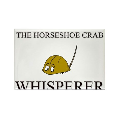 The Horseshoe Crab Whisperer Rectangle Magnet