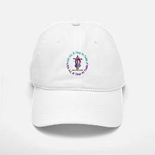 With God THYROID CANCER Baseball Baseball Cap