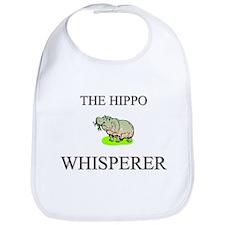 The Hippo Whisperer Bib