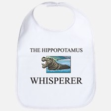 The Hippopotamus Whisperer Bib