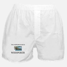 The Hippopotamus Whisperer Boxer Shorts