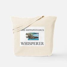 The Hippopotamus Whisperer Tote Bag