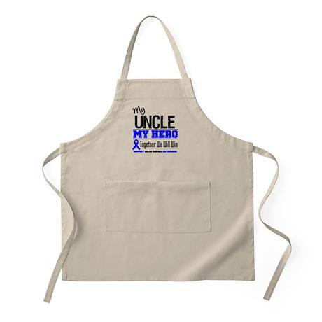 ColonCancerHero Uncle BBQ Apron